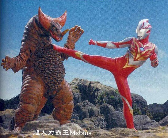 Ultraman Mebius Burning Brave