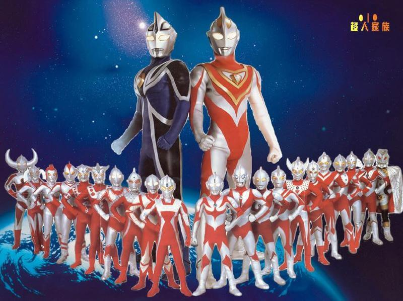 Ultraman series breakdown, ultra series