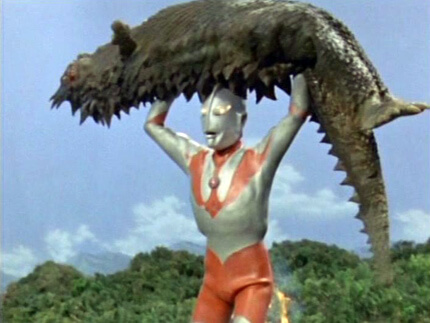 Ultraman throw wrestling moves