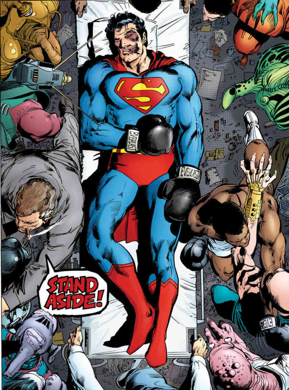 superman v batman who is greater essay Review of humans and paragons: essays on super-hero and repositioning the cast of batman and superman on the dungeons and cause greater problems.
