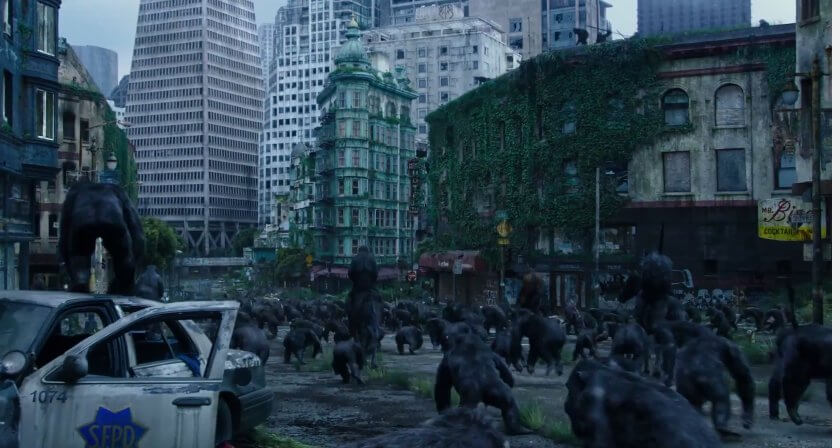 dawn of the planet of the apes 2014 trailer laser time 8