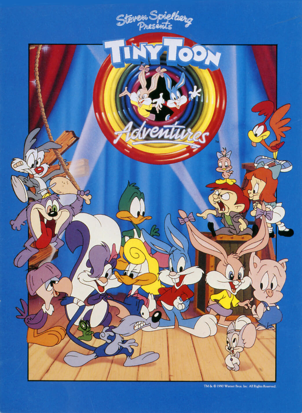 tiny-toons-poster-laser-time