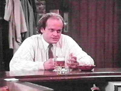 "That doesn't even include Cheers AKA ""Frasier: The Drunk Years"""