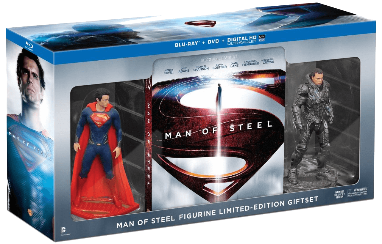 man of steel set
