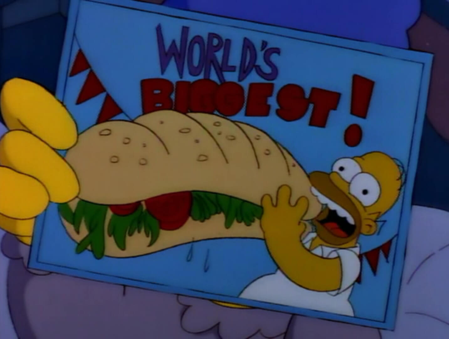 simpsons-worlds-biggest-hoagie