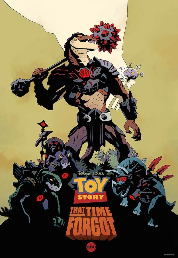 toy story that time forgot comic-com 2014 laser tiem