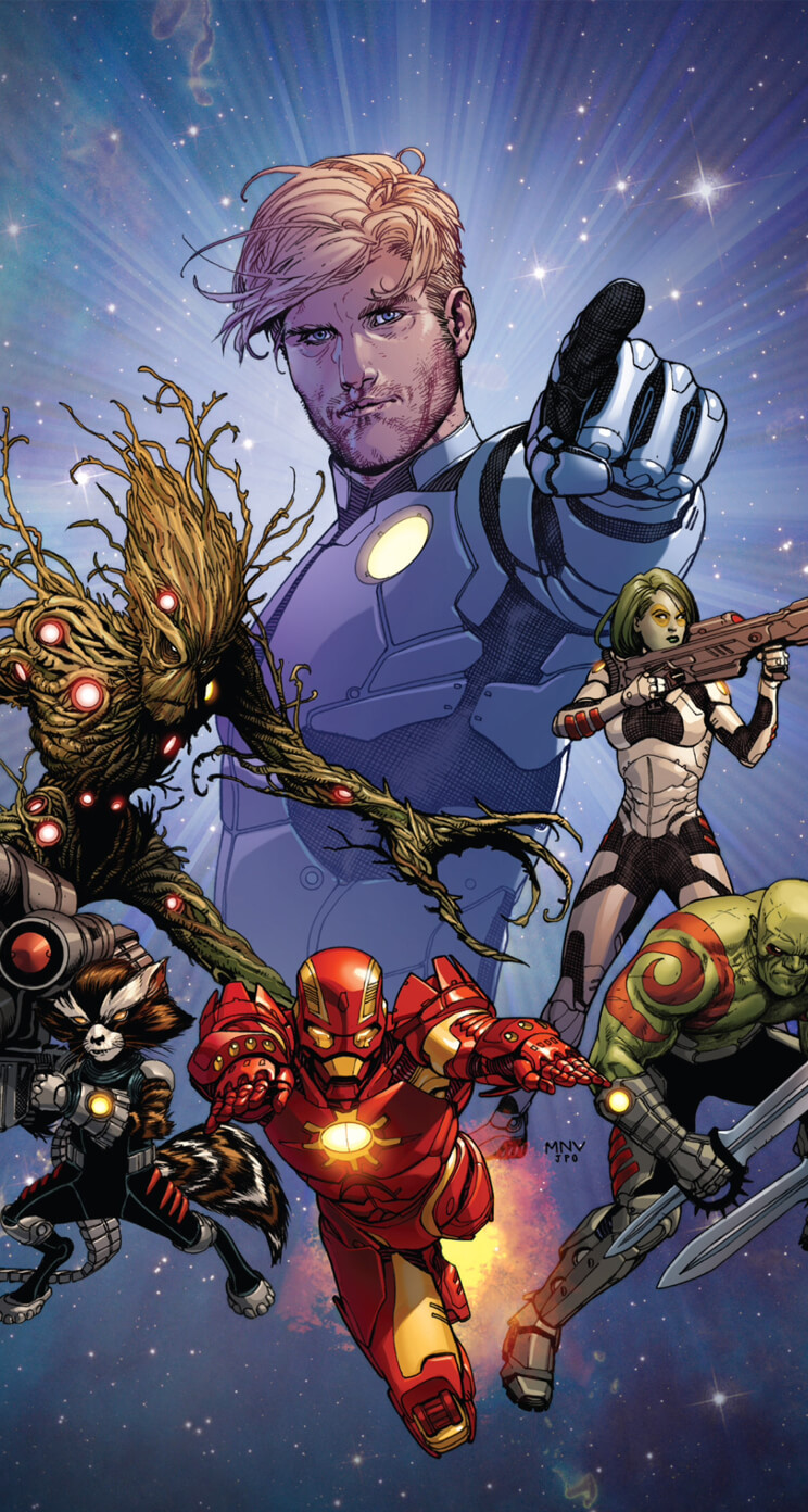 guardians of the galaxy iphone wallpaper