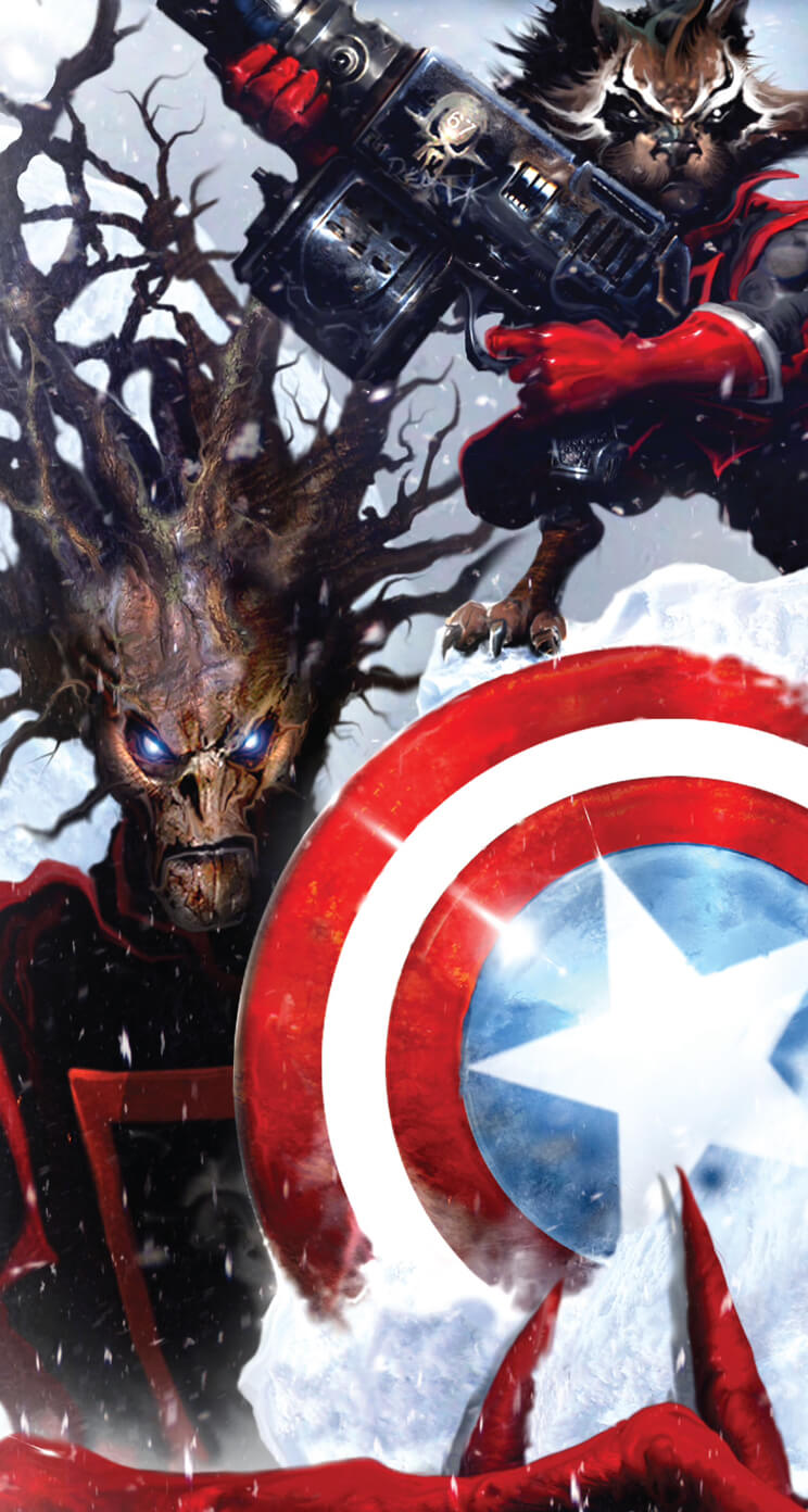 Guardians Of The Galaxy Iphone Wallpaper 7 Rocket Groot