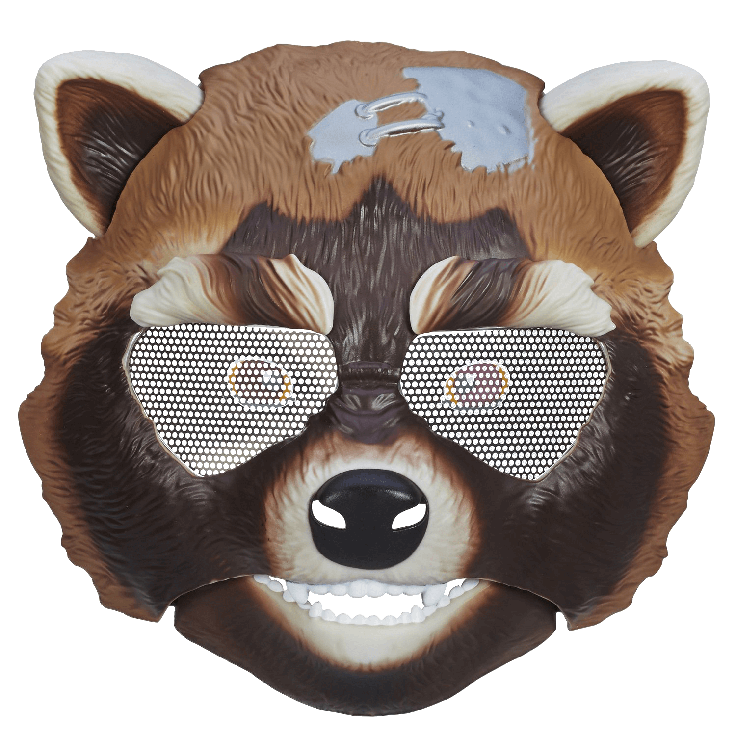 rocket racoon mask laser time