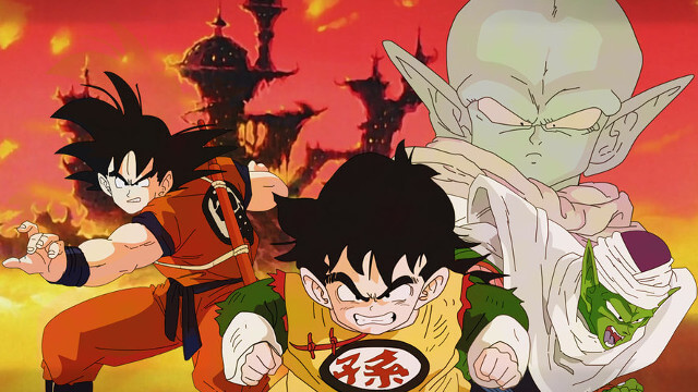 dragon ball z, the dead zone, movie