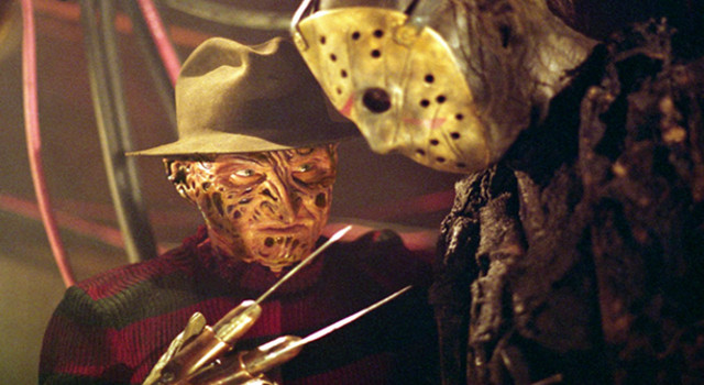 freddy, jason, freddy vs jason, ash, evil dead, freddy vs jason vs ash, laser time