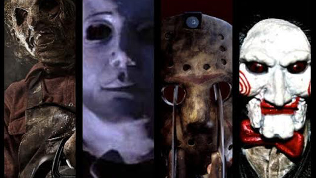 laser time, halloween movies, nightmare on elm street, saw, friday the 13th, halloween, texas chainsaw massacre
