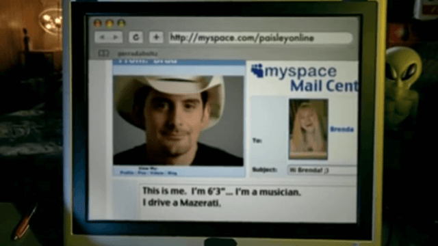 LTV, brad paisley, online, MTV, music video