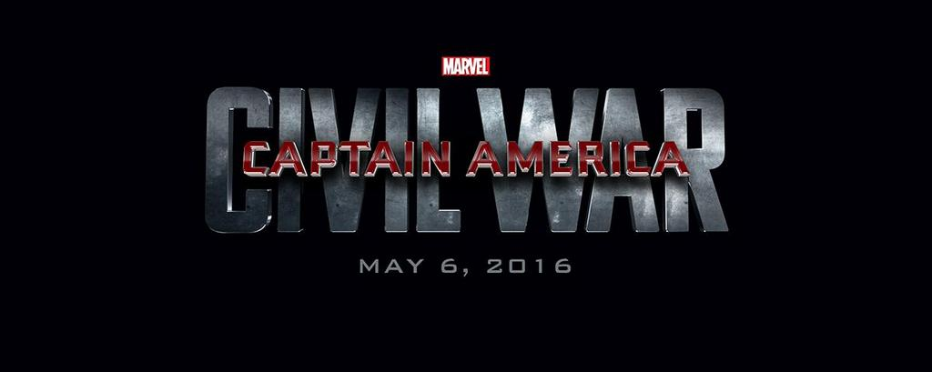 captain america civil war official logo laser. time