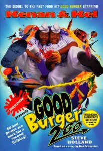 movie novelizations, laser time, good burger 2 go
