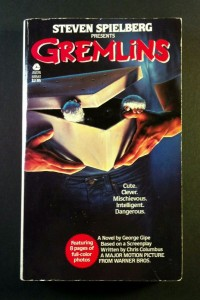 movie novelizations, laser time, gremlins