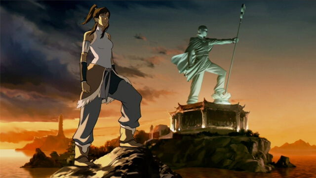 legend of korra, laser time, review, binge watch, the last airbender