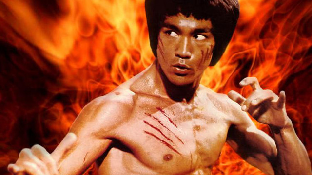 Bruce Lee, Chuck Norris, Thanksgiving, birthday, Laser Time