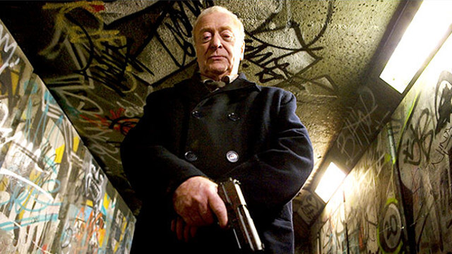 sylvester stallone, michael caine, Laser Time, Get Carter, Batman, Inception, The Prestige, Muppets Christmas Carol, Harry Brown, The Italian Job