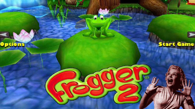 Frogger, Frogger 2, Swampy's Revenge, Frogger 3, The Great Quest, Laser Time, Playstation, PS2, arcade
