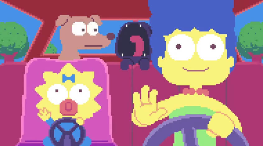 simpsons-pixel-intro-animation-paul-robertson