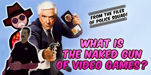 comedy, video games, Laser Time, Leslie Nielson, The Naked Gun, Airplane, Jazzpunk, GTA, Grand Theft Auto, San Andreas, Jazzpunk, Saints Row