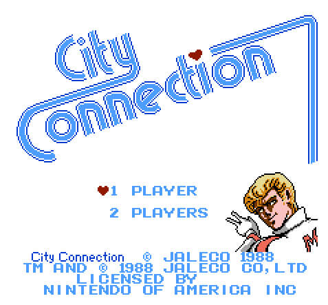city-connection-nes-title-screen-laser-time