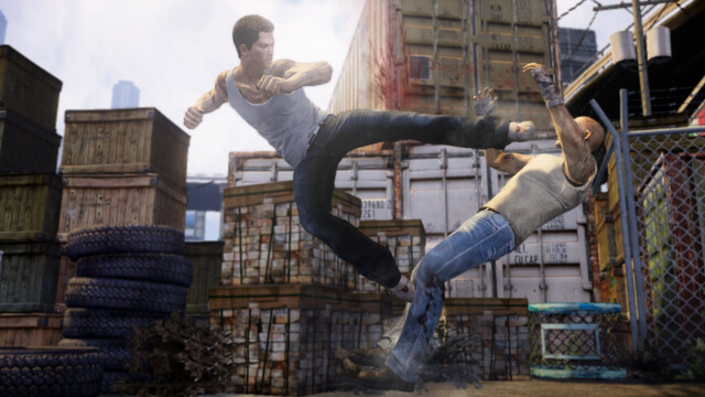 Laser Time, Sleeping Dogs, Playstation, ShareFactory