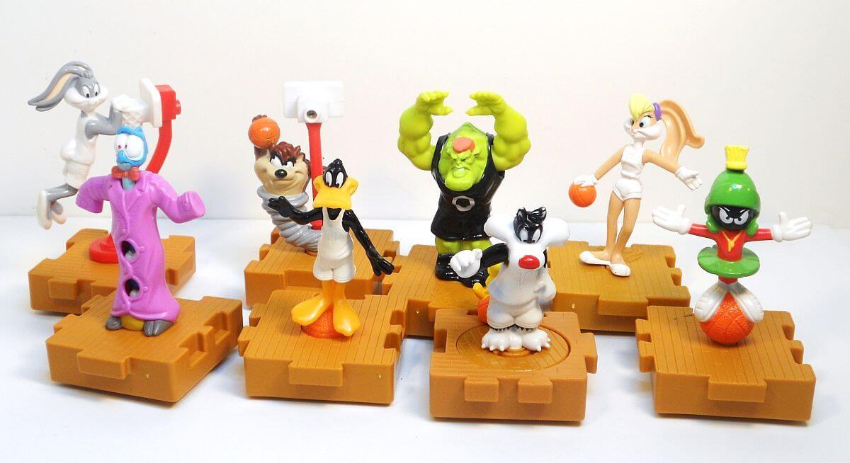 Toys From Mcdonald S Happy Meals : The greatest pieces of space jam merchandise laser time