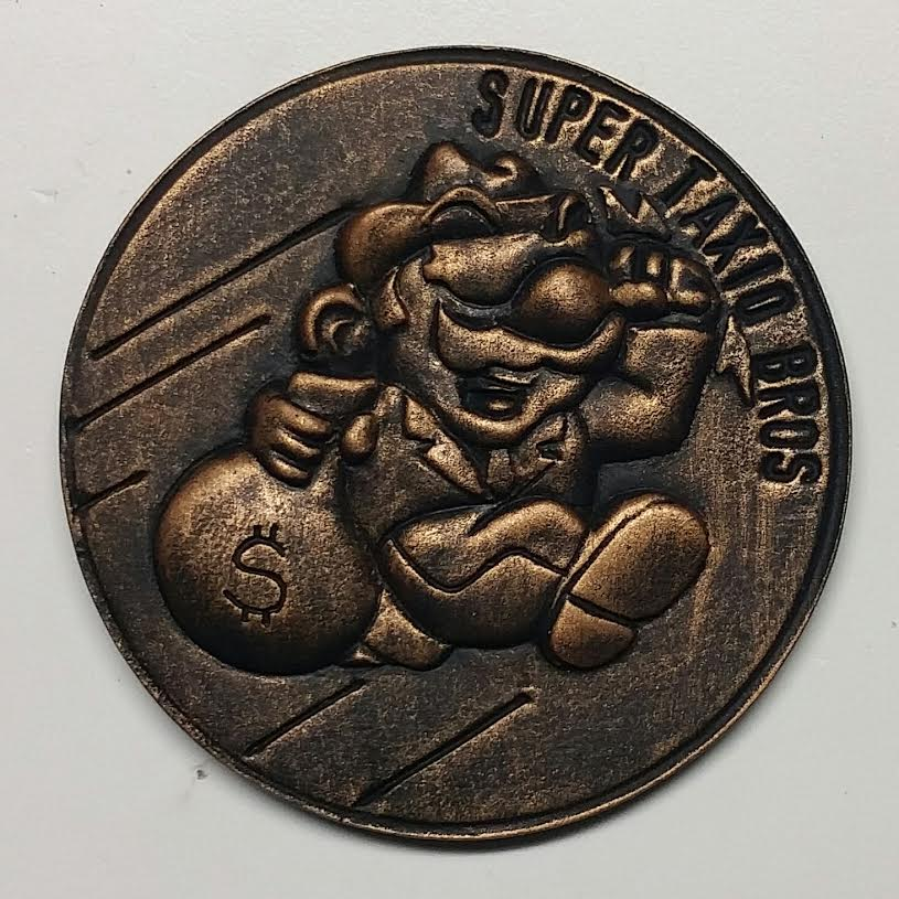 coin painted 2