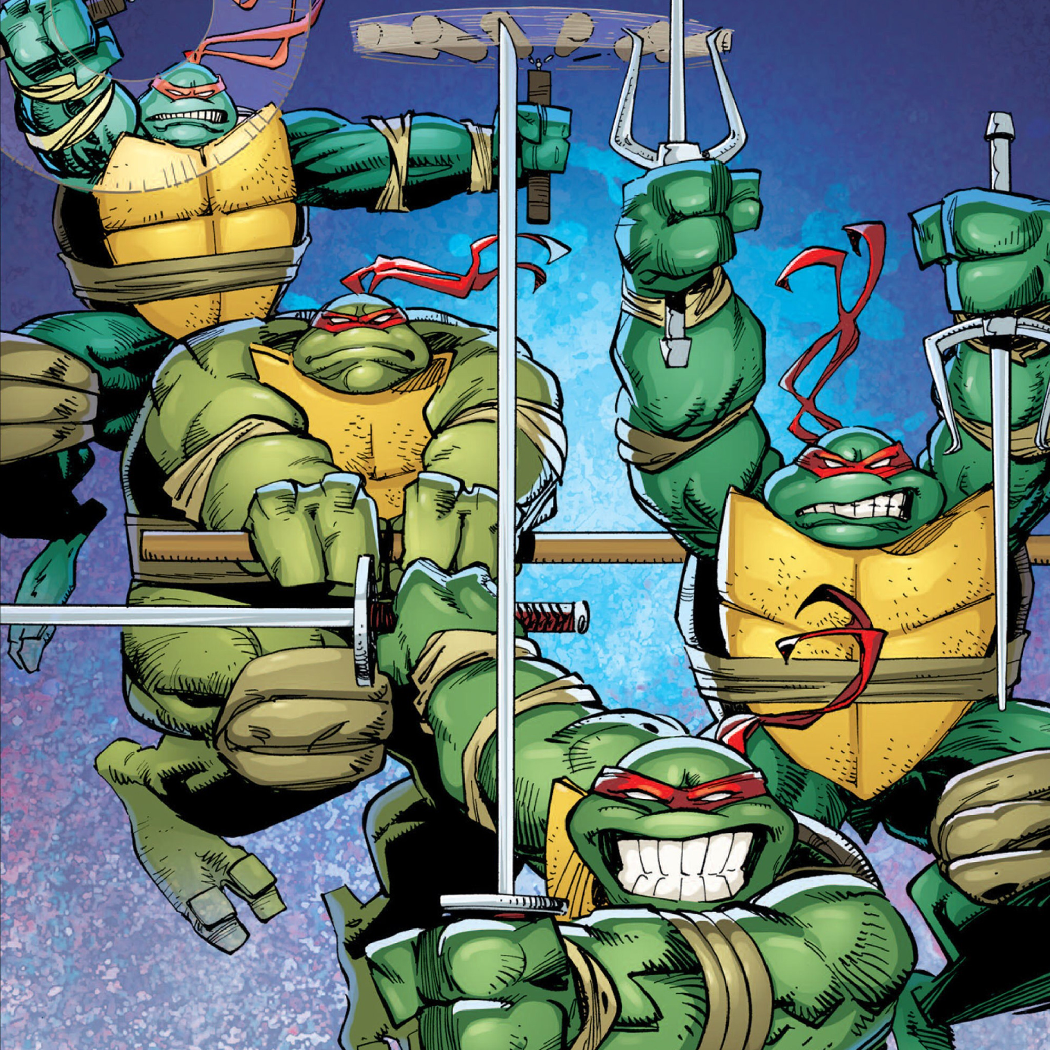 Ninja Turtles Wallpaper: Teenage-mutant-ninja-turtles-idw-comic-ipad-wallpaper