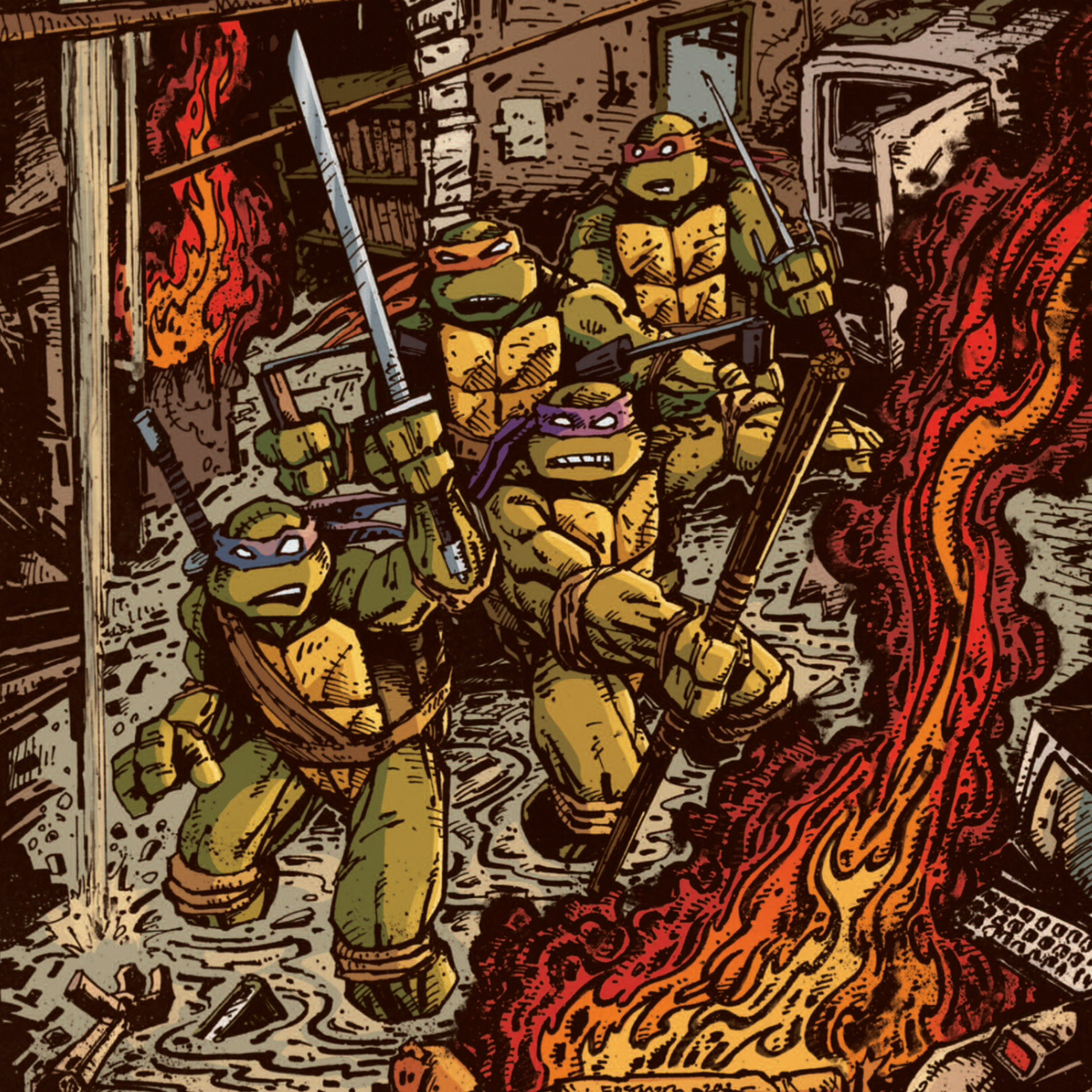 Ninja Turtles Wallpaper: Impremedia.net