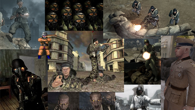 Memorial Day, grunts, video games, StarCraft, Empire, Metal Gear Solid, Halo, Gears of War, Company of Heroes
