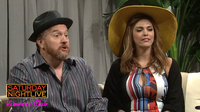Laser Time, SNL Viewers Club, Saturday Night Live, review, episode, season 40, Louis C.K., rihanna