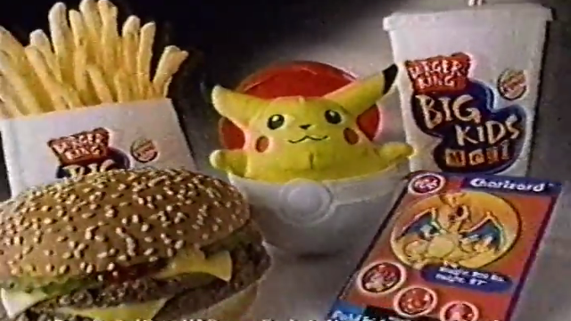 Burger King, Kids Meal, toys, Butt Ugly Martians, Jimmy Neutron, Backstreet Boys, The Simpsons, Pokemon