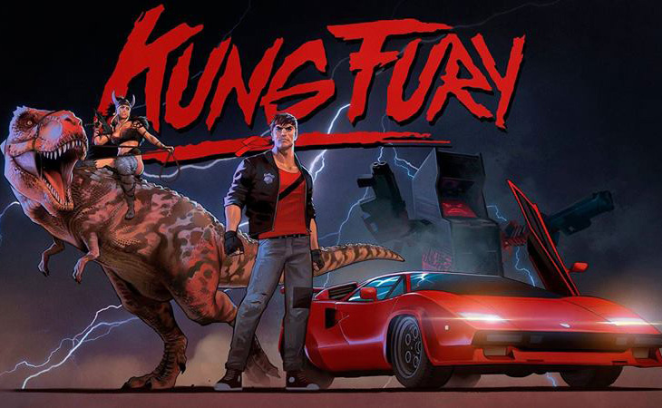 Kung Fury Is The Greatest Movie Ever Made Laser Time