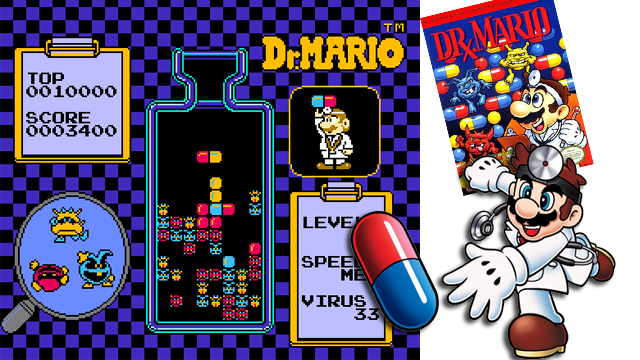 dr mario nes laser time