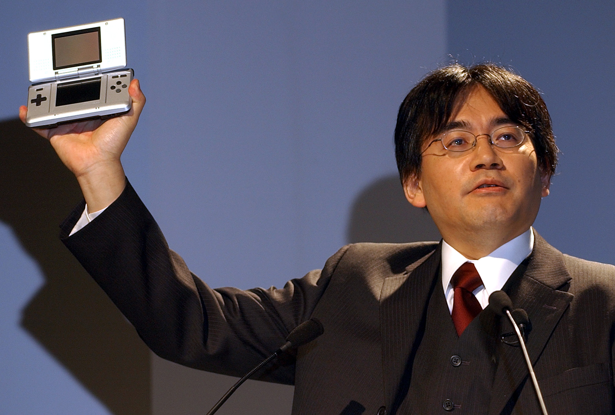 Image result for iwata in 80's
