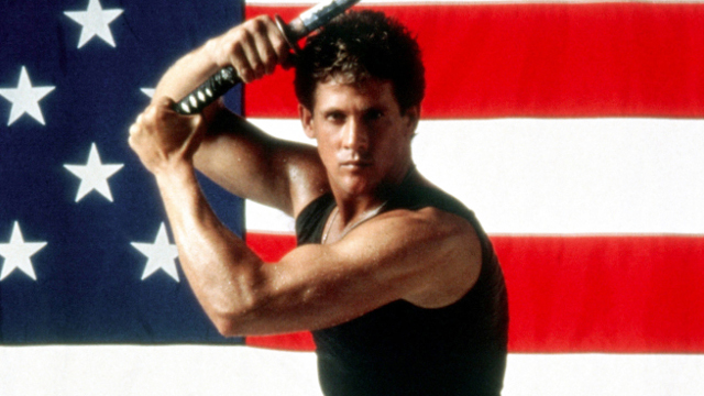 michael dudikoff, navy seals vs zombies, action star, 80s, laser time
