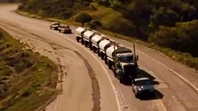 movie, film, truck, vehicle, knight rider, the fast and the furious, transformers, optimus prime, rusty nails, joy ride, mad max, fury road, the road warrior, war rig, phantom tanker, duel, happy toys, maximum overdrive, convoy, rubber duck, unisol, universal soldier, dreadnought, death race, fuel tanker