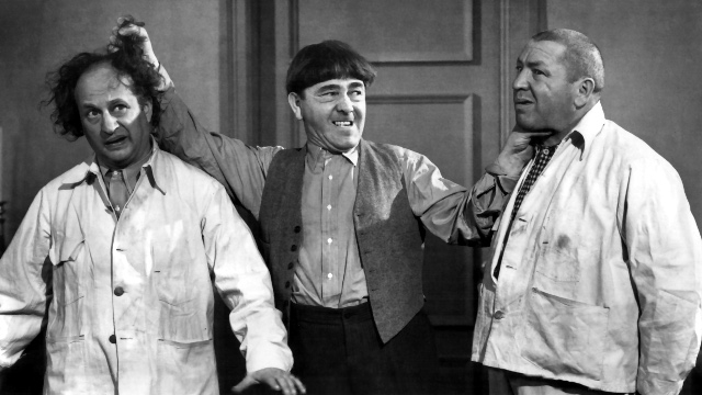 3 Stooges, best shorts, brideless groom, curly, disorder in the court, funniest shorts, larry, malice in the palace, moe, shemp, sing a song of six pants, Three Stooges, you nazty spy!