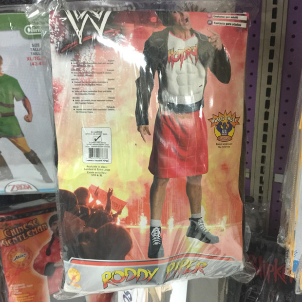 halloween, costumes, bad, hulk hogan, rowdy roddy piper, jamie kennedy, elektra, darkwatch, karate, jew, torah, harriet tubman