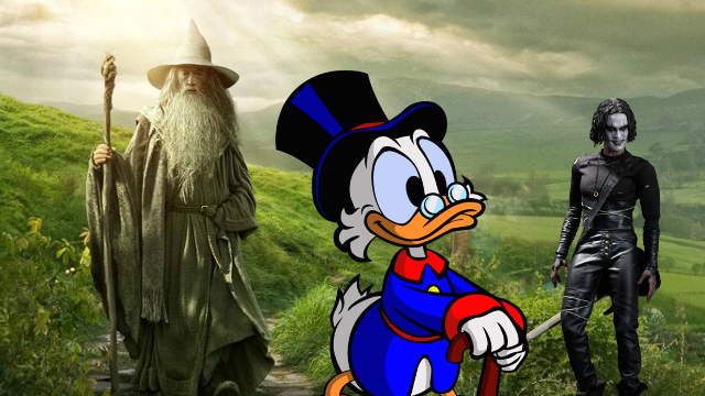 soundtrack, book, space jazz, battlefield earth, spawn, the dark saga, traitor general, the crow, fear and bullets, nightfall in middle earth, the silmarillion, star wars, shadows of the empire, the life and times of scrooge mcduck