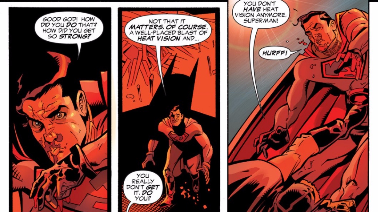 7 Best Batman Vs Superman Fights From The Comics Page 2 Laser Time