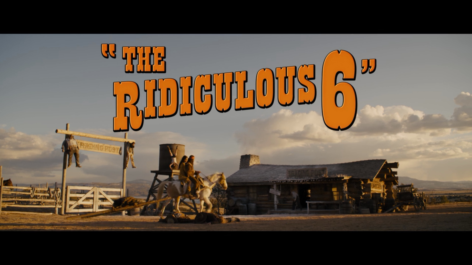 the ridiculous 6, netflix, review, movie, rant, adam sandler, rob schneider, taylor lautner, terry crews, luke wilson, jorge garcia, danny trejo, nick nolte, steve buscemi, harvey kietel, whitney cummings, david spade, blake shelton, jon lovitz, vanilla ice, norm macdonald