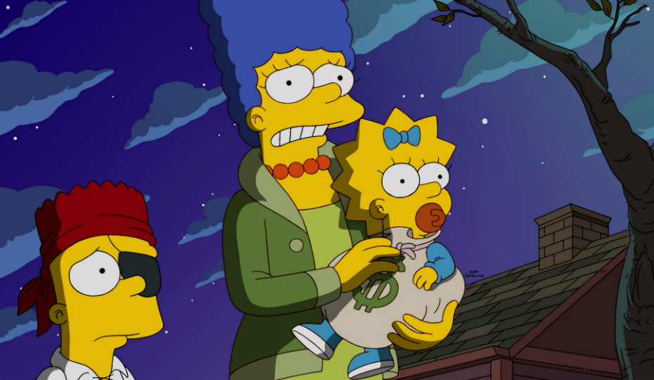 Speaking of, The Simpsons had it's best Halloween in years...