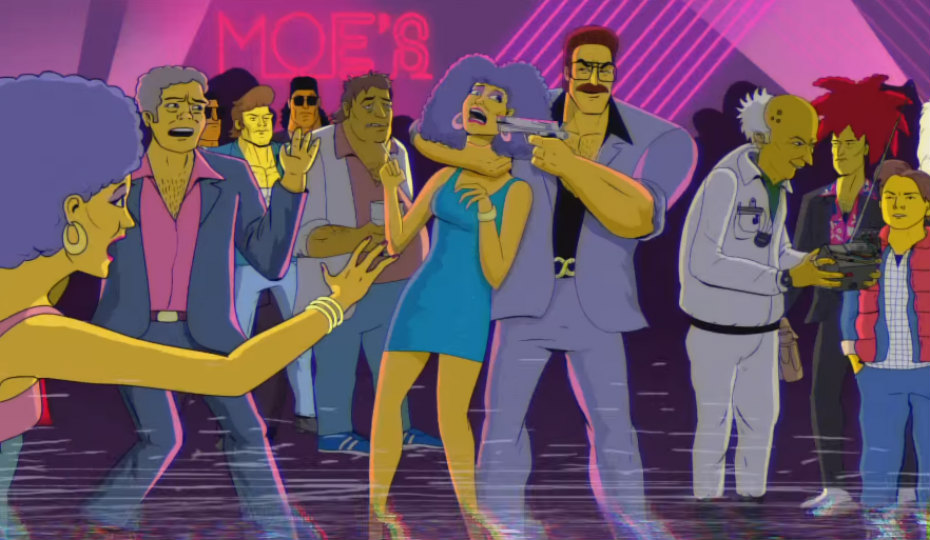 patty-selma-moe-snake-bob-simpsons80s