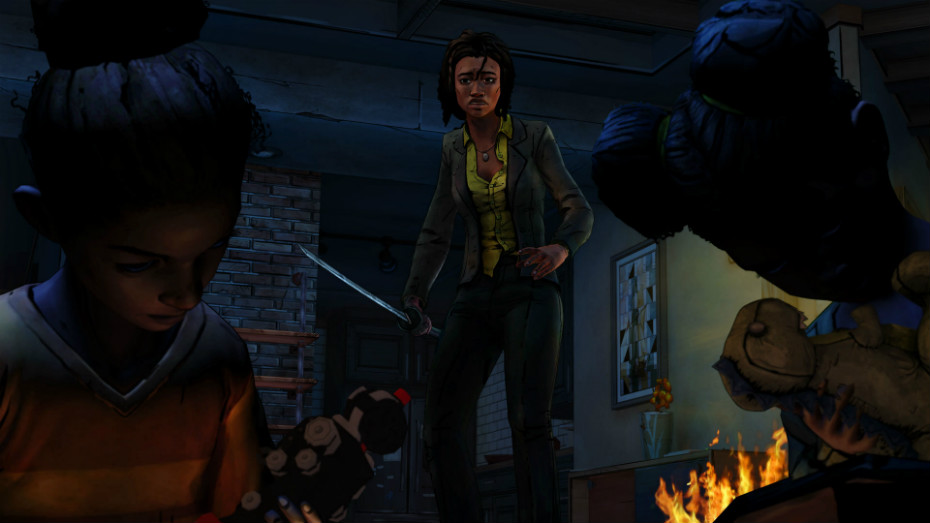 The trailer shows some flashback sequences, but will we get more time with Michonne's past?