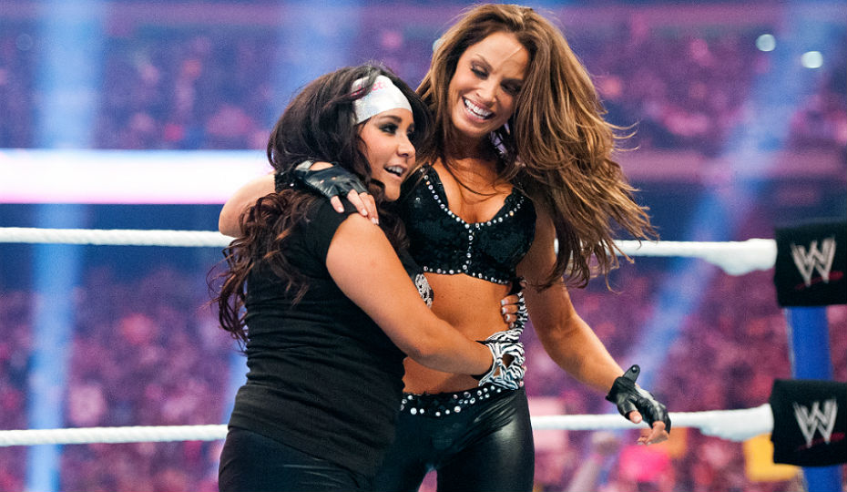 Snooki has appeared at two WrestleManias.
