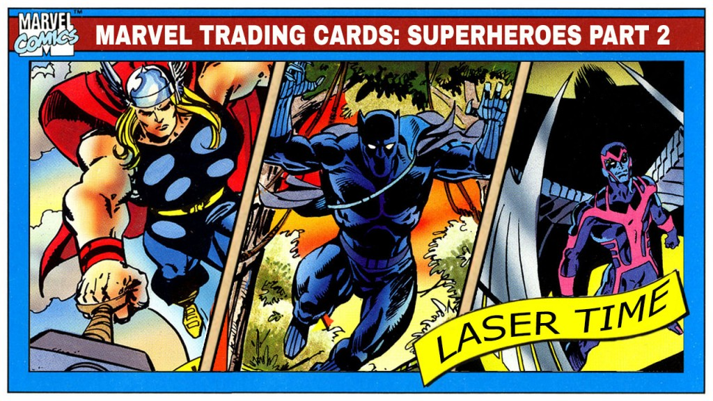 marvel-trading-cards-series-2-laser-time